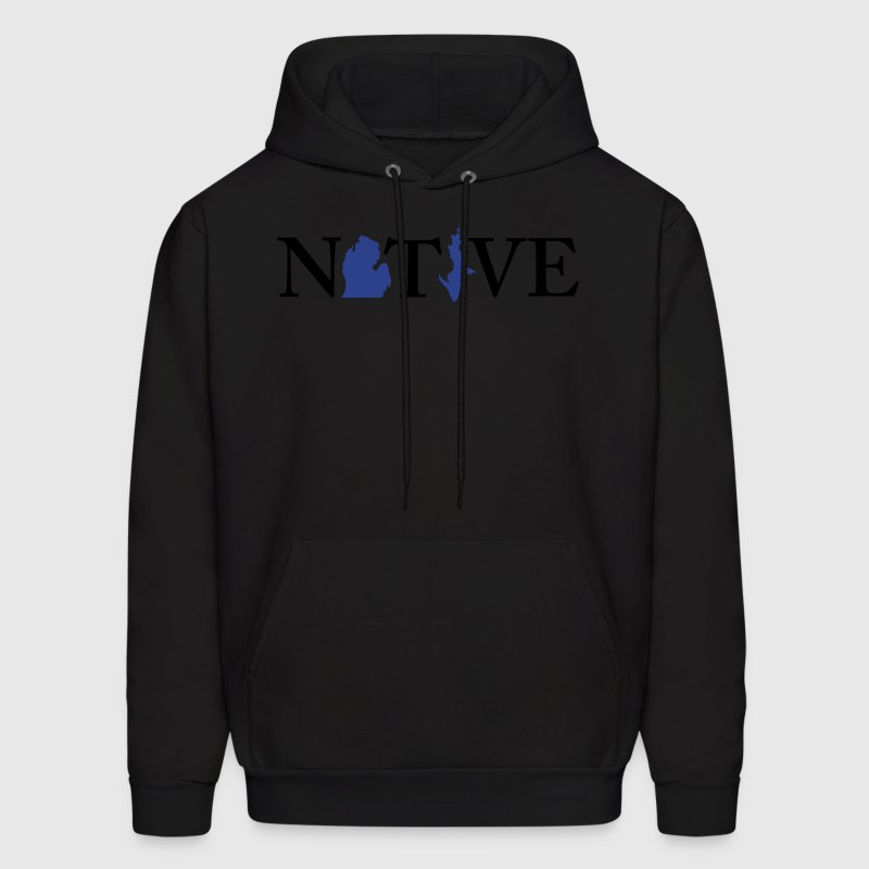 Native Michigander Hoodies - Men's Hoodie