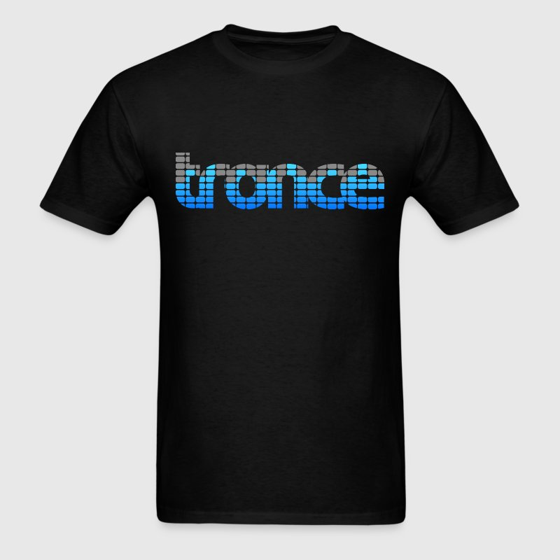 Trance EQ (Blue) Men's T-shirts - Men's T-Shirt