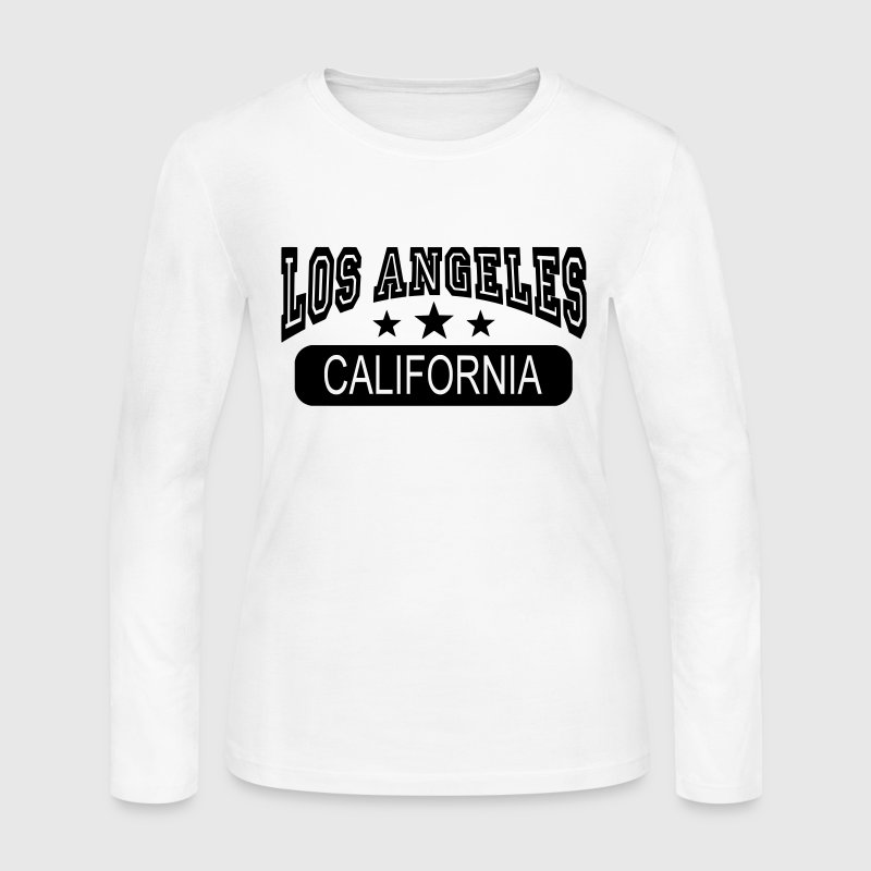 los angeles california Long Sleeve Shirts - Women's Long Sleeve Jersey T-Shirt