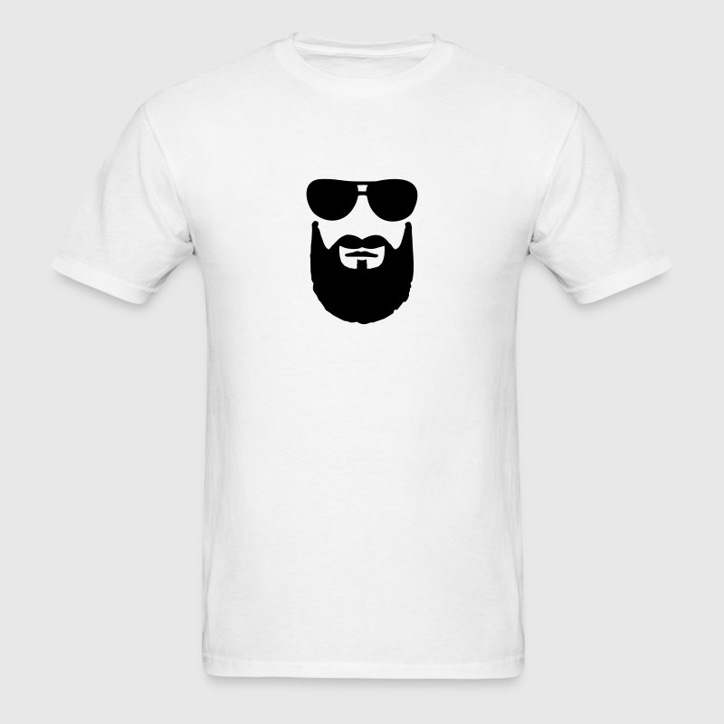 Beard Sunglasses T-Shirts - Men's T-Shirt