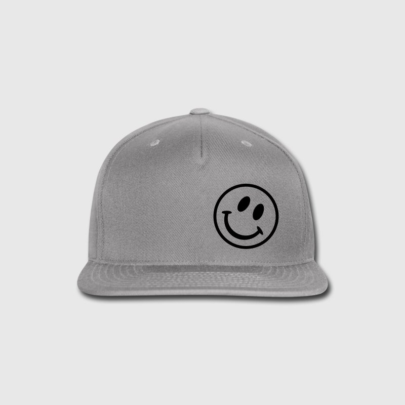 Smiley Caps - Snap-back Baseball Cap