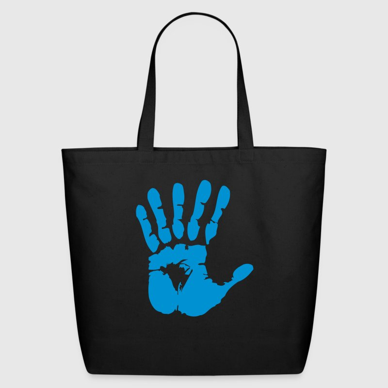 hand with six fingers Bags  - Eco-Friendly Cotton Tote