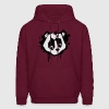 Bear Head in Graffiti Style Hoodies - Men's Hoodie