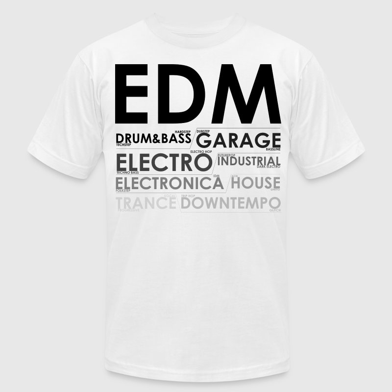 The EDM Kingdom T-Shirts - Men's T-Shirt by American Apparel