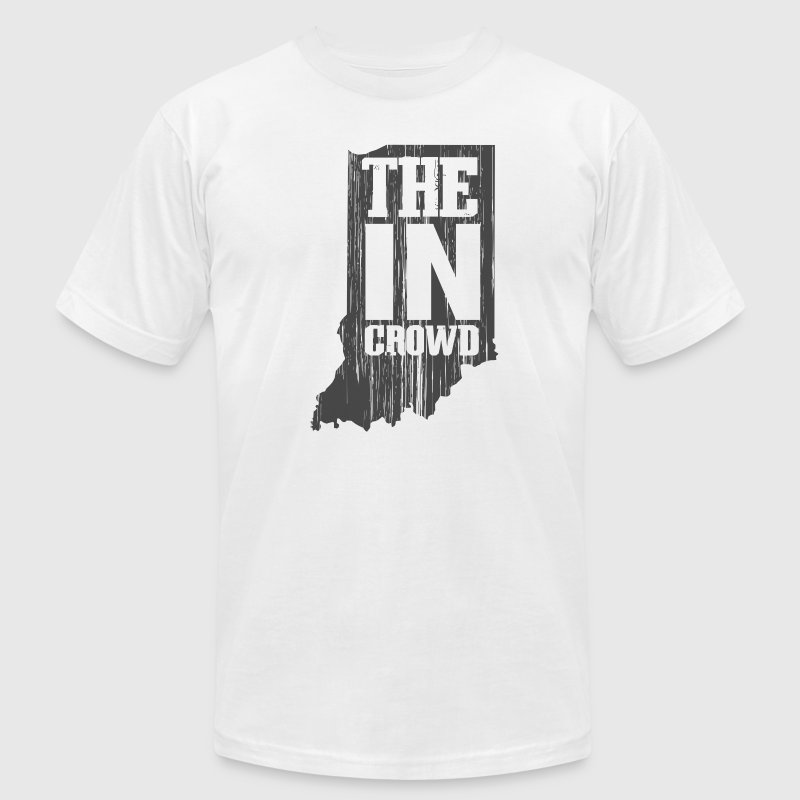 The IN Crowd - Men's T-Shirt by American Apparel