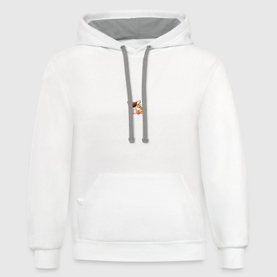 Ambitious Easter Bunny Bottles & Mugs - Contrast Hoodie