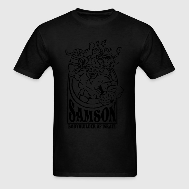 Samson. Bodybuilder T-Shirts - Men's T-Shirt
