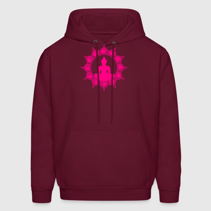 Meditation - buddha lotus - symbol enlightenment Hoodies - Men's Hoodie