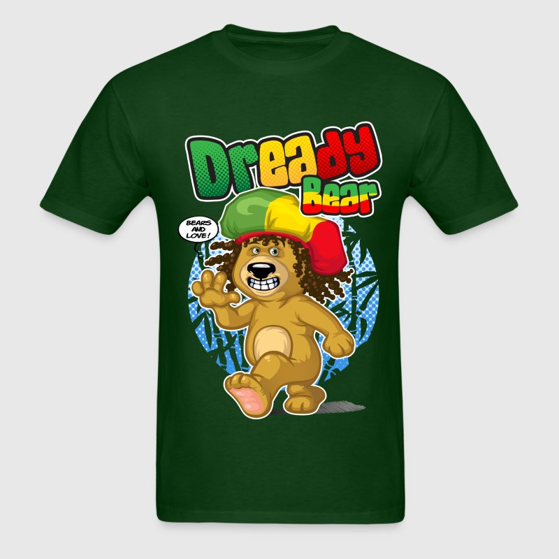 Dready bear T-Shirts - Men's T-Shirt
