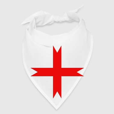 Cross of the Knights Templar - Bandana