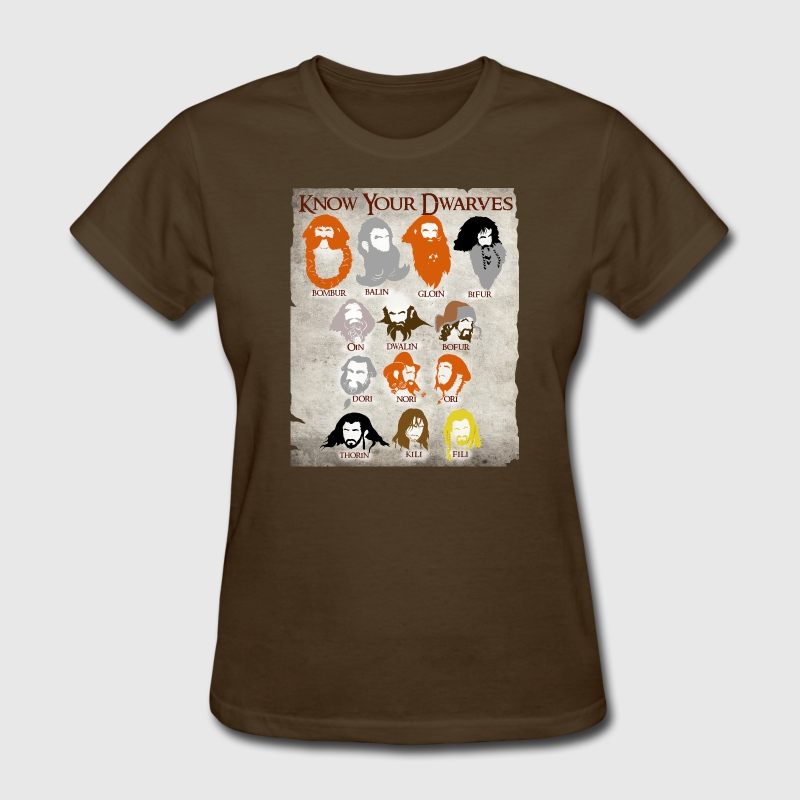 Know Your Dwarves - Women's T-Shirt