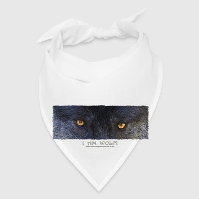 Grey Wolf Eyes - Bandana