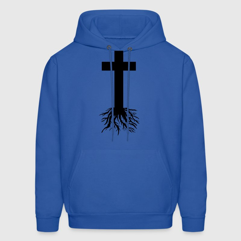 Cross with Roots Hoodies - Men's Hoodie