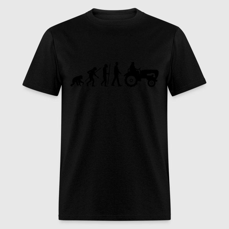 evolution bauer mit treaktor 032013 a 1c t shirt spreadshirt. Black Bedroom Furniture Sets. Home Design Ideas