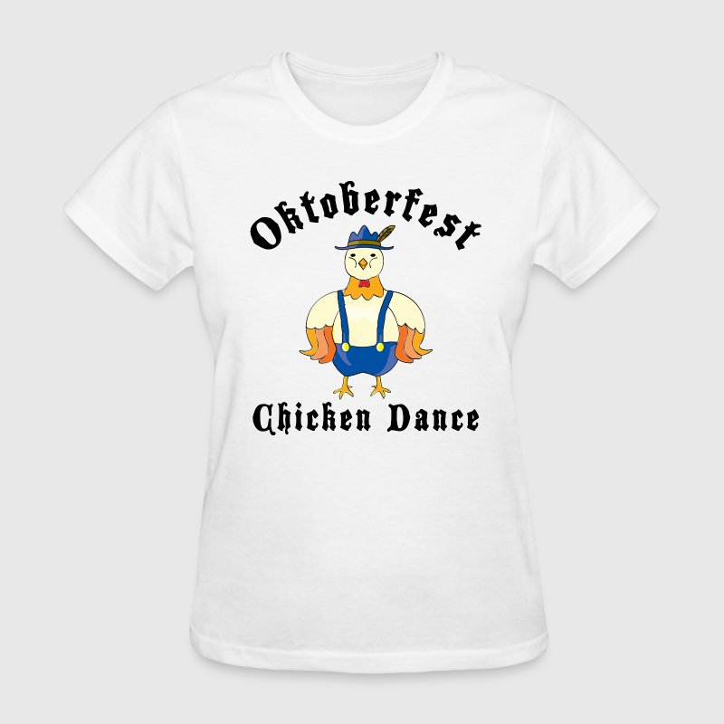 Oktoberfest Chicken Dance T-Shirt - Women's T-Shirt