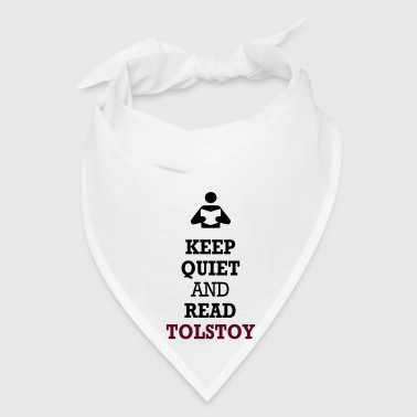 Keep Quiet and Read Tolstoy Bags  - Bandana