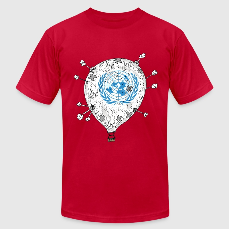 United Nations T-Shirts - Men's Fine Jersey T-Shirt