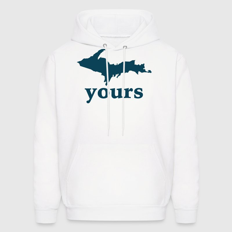 Up Yours Down with Detroit Hoodies - Men's Hoodie
