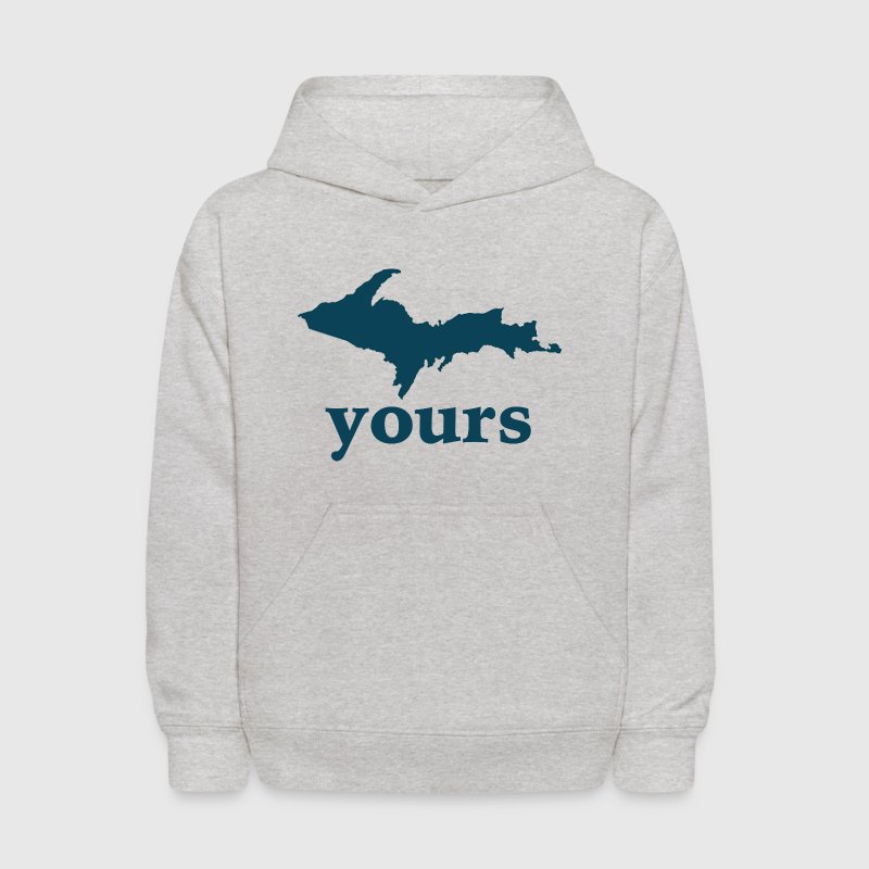 Up Yours Down with Detroit Sweatshirts - Kids' Hoodie