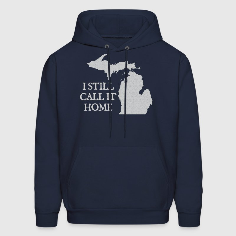 I Still Call It Home Down with Detroit Hoodies - Men's Hoodie