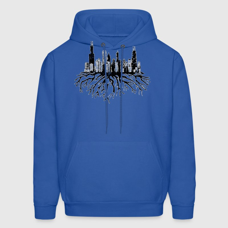 New Chicago Skyline Roots Chicago Hoody  Hoodies - Men's Hoodie