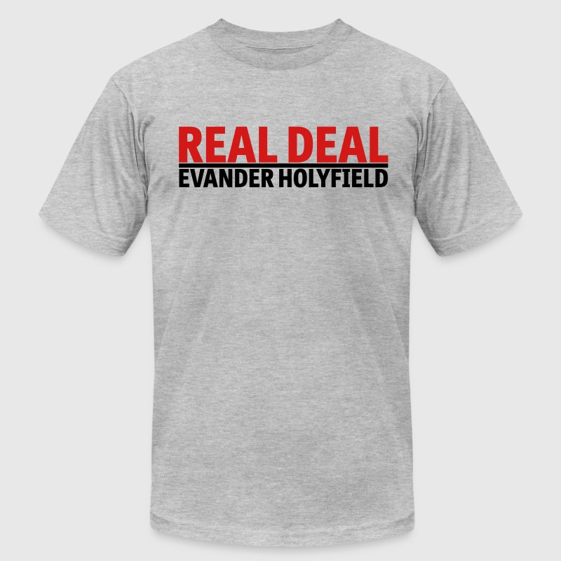 Real Deal Evander Holyfield mp T-Shirts - Men's Fine Jersey T-Shirt