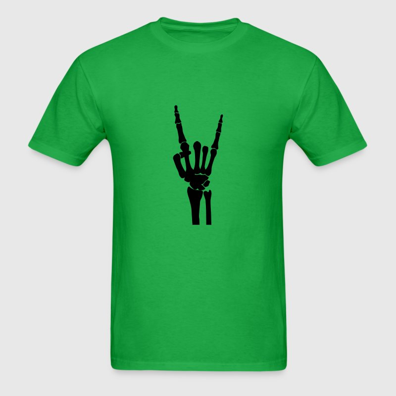Skull Rock hand T-Shirts - Men's T-Shirt
