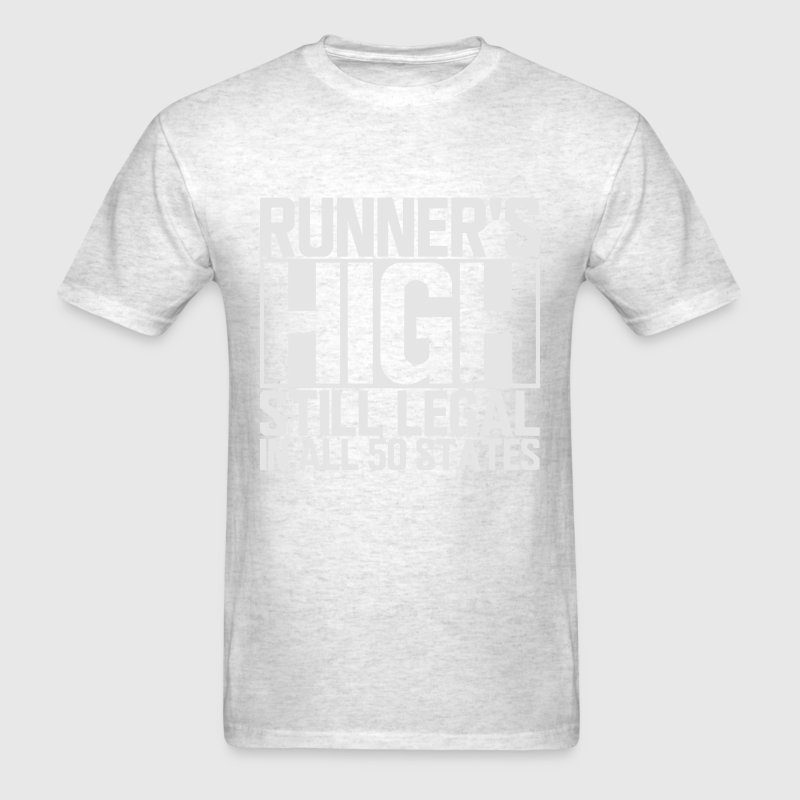 Runner's High T-Shirts - Men's T-Shirt