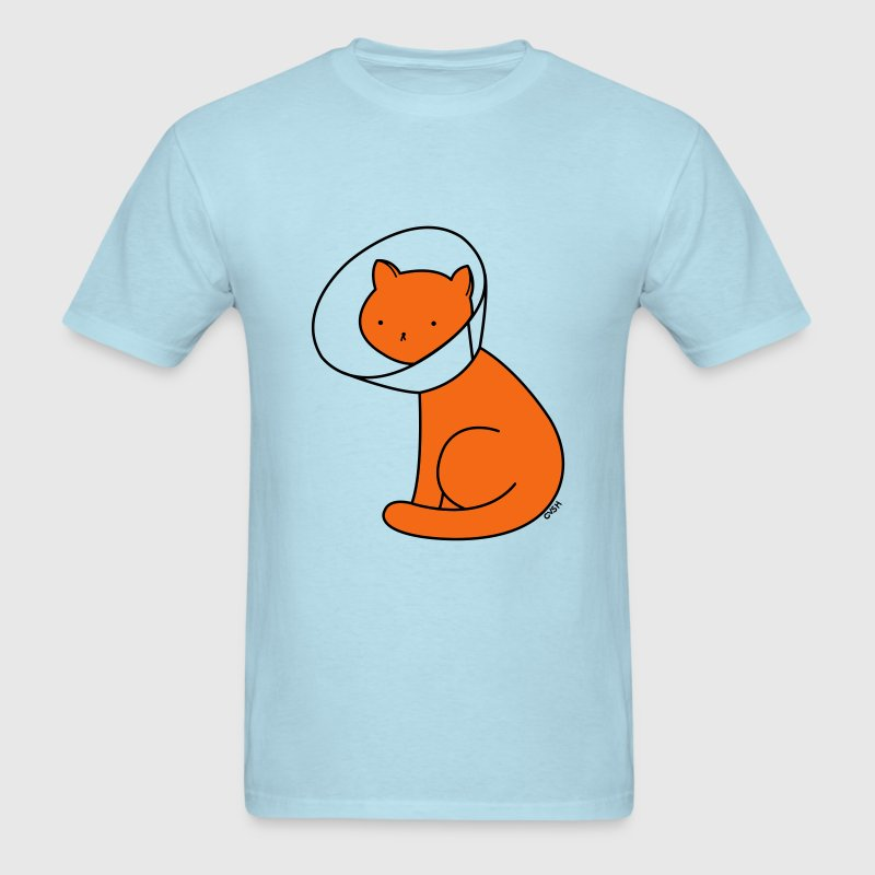 Cone of Shame Cat Versus Humans mp T-Shirts - Men's T-Shirt