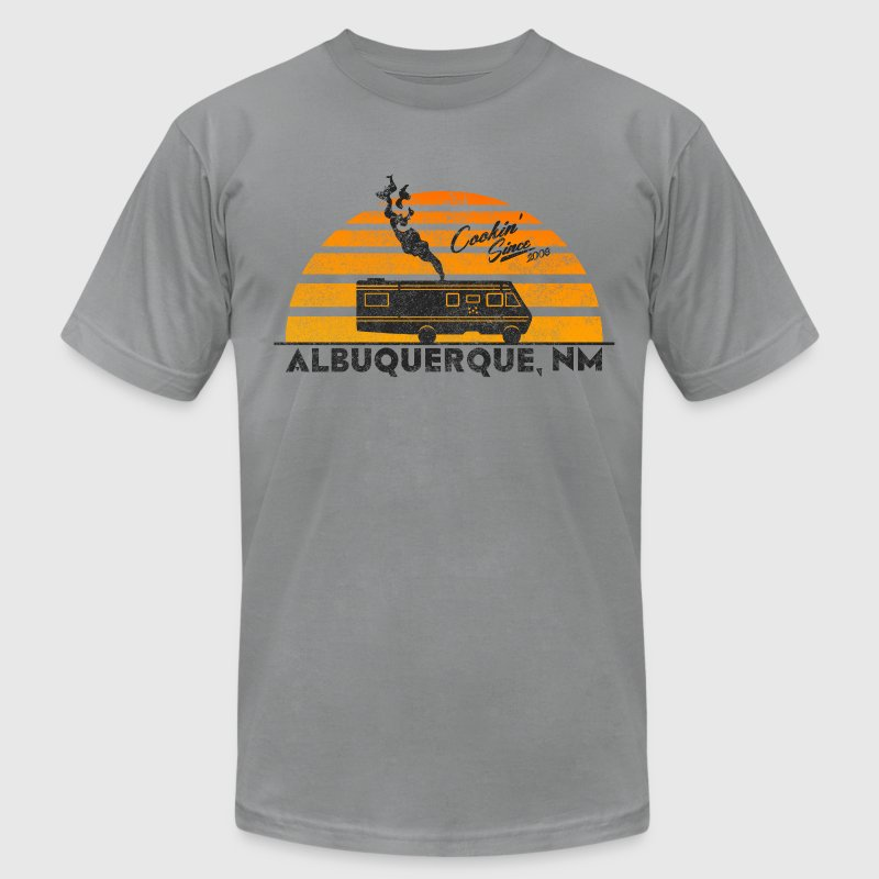 Breaking Bad: Cooking in New Mexico T-Shirts - Men's T-Shirt by American Apparel