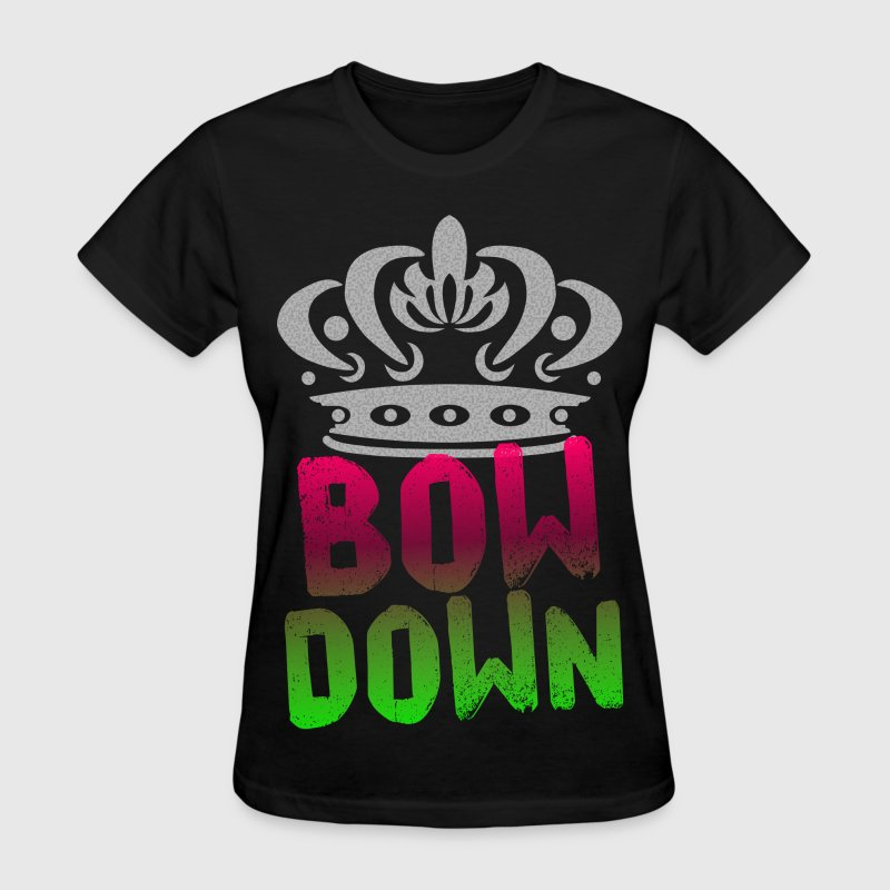 Bow Down Women's T-Shirts - Women's T-Shirt