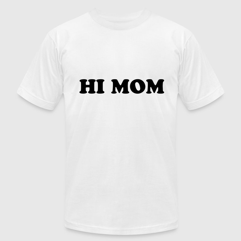 KCCO - HI MOM T-Shirts - Men's T-Shirt by American Apparel