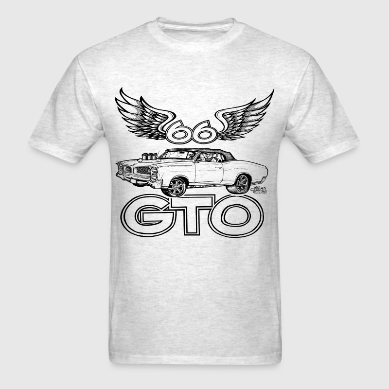 Tri-power 66 GTO T-Shirts - Men's T-Shirt