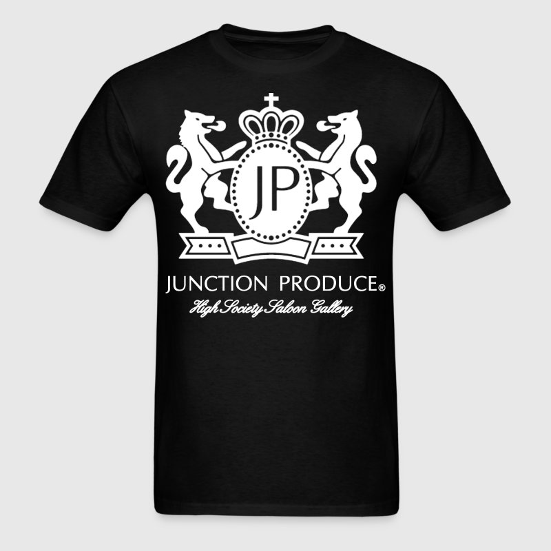 Junction Produce Logo White VIP CAR T-Shirts - Men's T-Shirt