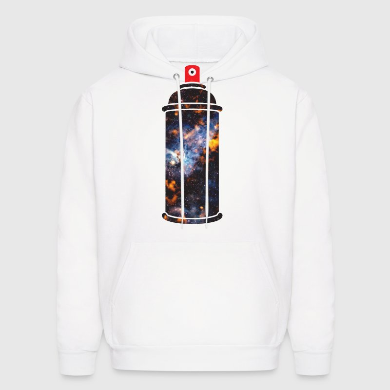 Cosmic Spray Paint Hoodies - Men's Hoodie