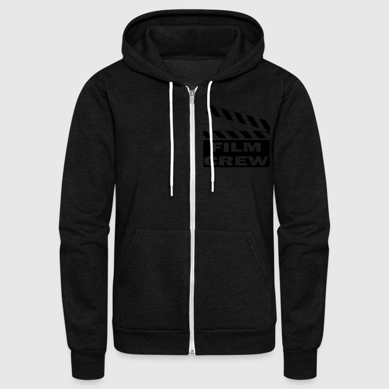 Film Crew Zip Hoodies/Jackets - Unisex Fleece Zip Hoodie by American Apparel
