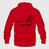 Extreme Land Paddling Zip Hoodies/Jackets - Unisex Fleece Zip Hoodie by American Apparel