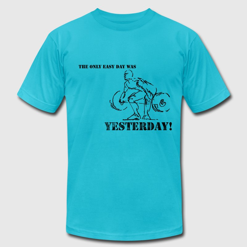 Yesterday - Men's T-Shirt by American Apparel