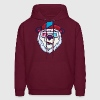 Ice cold polar bear Hoodies - Men's Hoodie