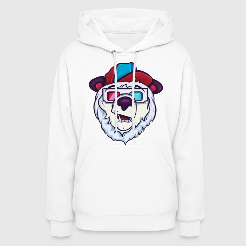 Ice cold polar bear Hoodies - Women's Hoodie