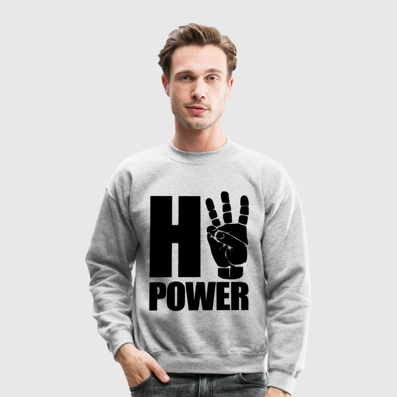 HiiiPower Long Sleeve Shirts - Crewneck Sweatshirt