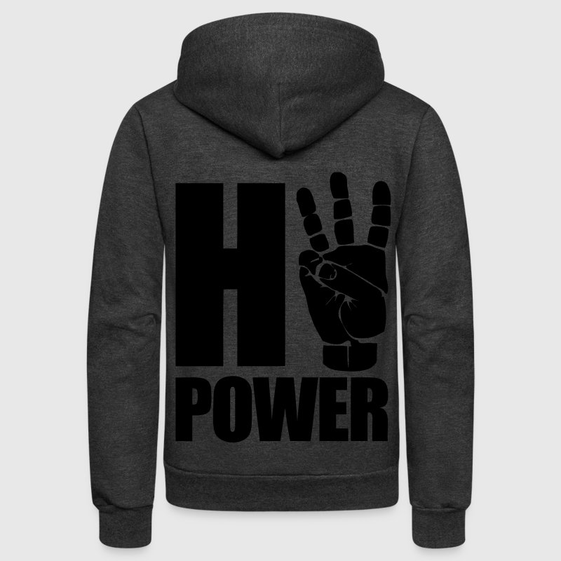 HiiiPower Zip Hoodies/Jackets - Unisex Fleece Zip Hoodie