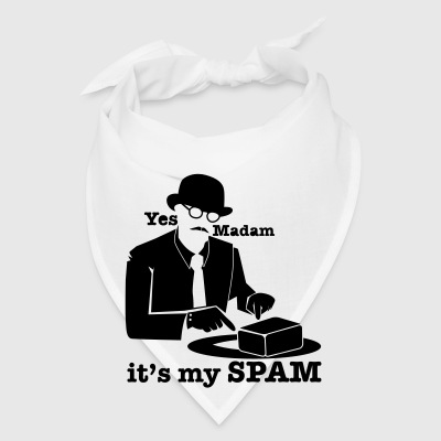 Yes Madam it's my SPAM with top hat man pointing Phone & Tablet Covers - Bandana