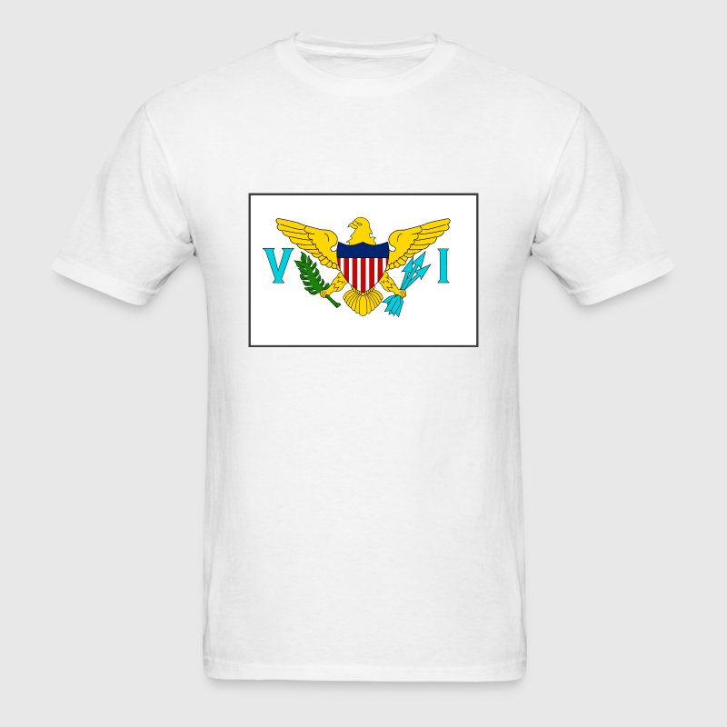 US Virgin Is. Flag T-Shirt - Men's T-Shirt