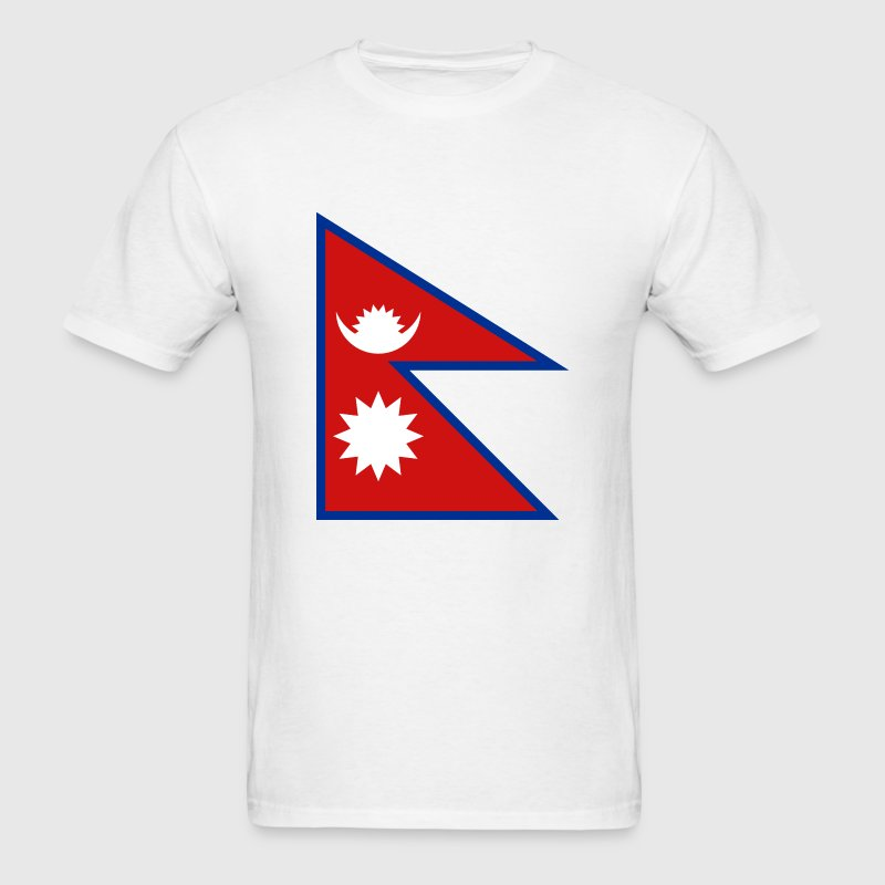 Nepal Flag T-Shirt - Men's T-Shirt