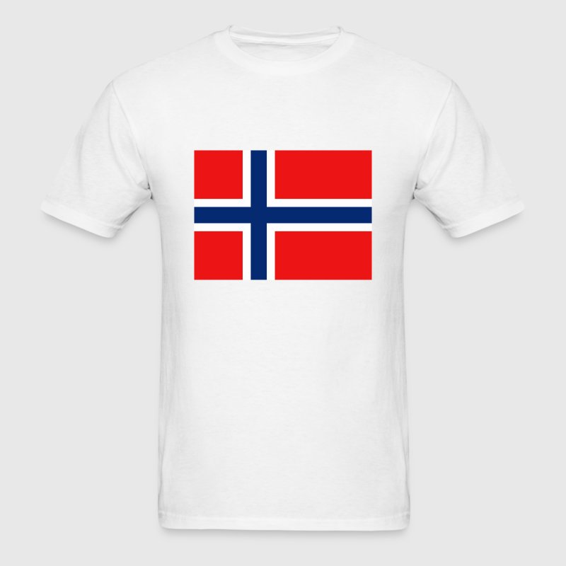 Norway Flag T-Shirt - Men's T-Shirt