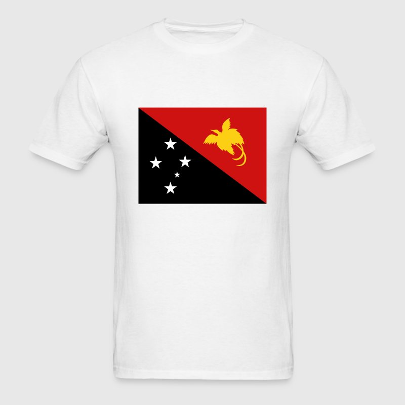 Papua New Guinea Flag T-Shirt - Men's T-Shirt