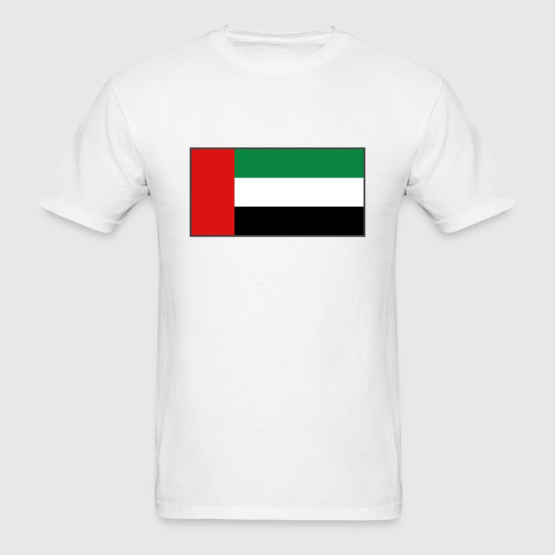 United Arab Emirates Flag T-Shirt - Men's T-Shirt