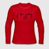 Le Lenny Face or Le Face Face hipster 4chan meme Long Sleeve Shirts - Women's Long Sleeve Jersey T-Shirt