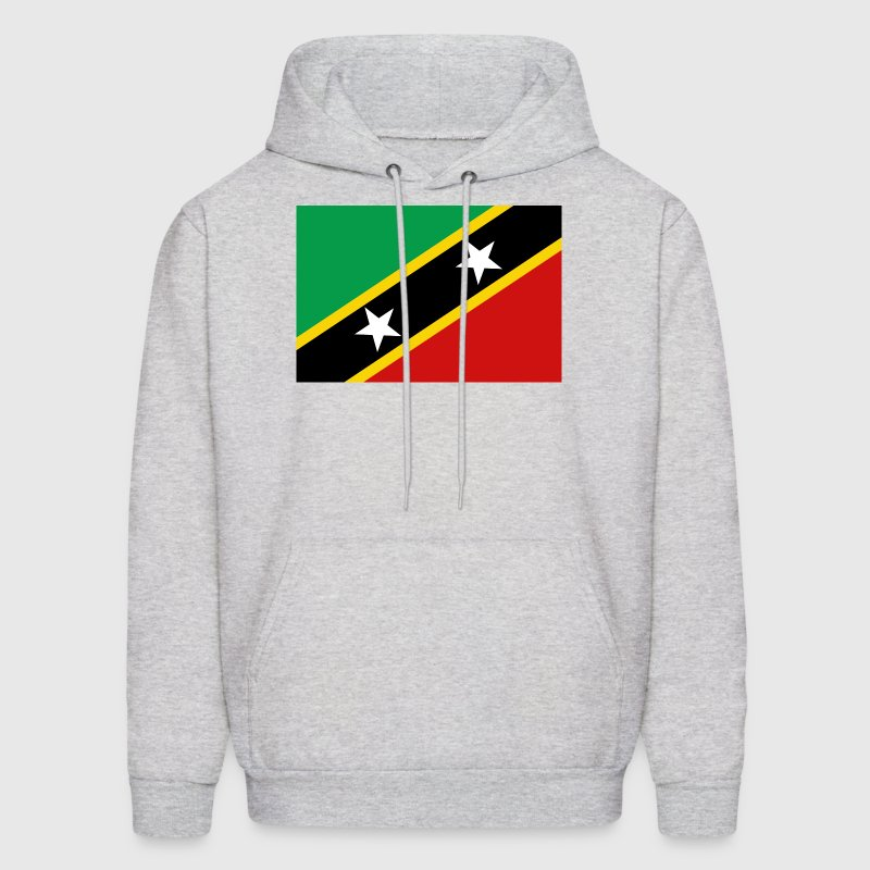 Saint Kitts and Nevis Flag Sweatshirt - Men's Hoodie